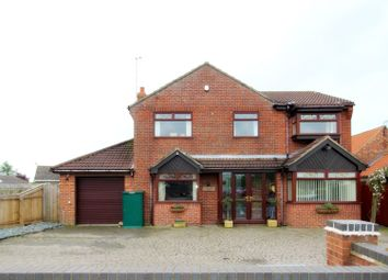 Thumbnail 4 bed detached house for sale in Beverley Road, Cranswick, Driffield