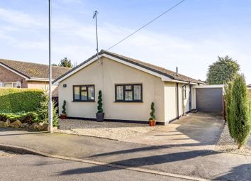 Thumbnail 3 bed detached bungalow for sale in Warren Road, Stanion, Kettering