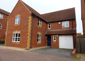 Thumbnail 4 bedroom detached house for sale in Evergreen Drive, Peterborough