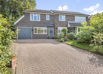 Thumbnail 4 bed detached house for sale in Gaskyns Close, Rudgwick, Horsham