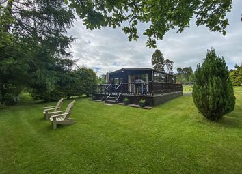 Thumbnail 2 bed lodge for sale in Caerberis Holiday Park, Llanynis, Builth Wells