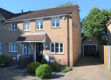 Thumbnail 2 bed end terrace house for sale in Bader Close, King's Lynn