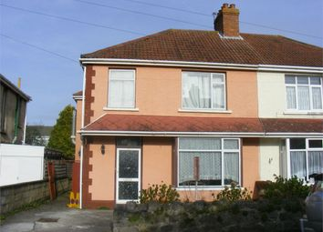 Thumbnail 4 bed semi-detached house for sale in Chalfont Road, Milton, Weston-Super-Mare, North Somerset