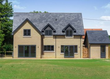 Thumbnail 4 bed detached house for sale in Rampton Road, Willingham