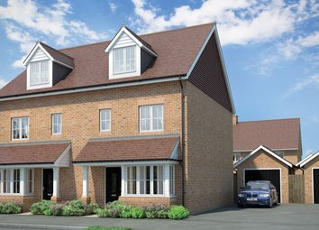 "Thumbnail 3 bed property for sale in ""The Darwin"" at Reigate Road, Hookwood, Horley"