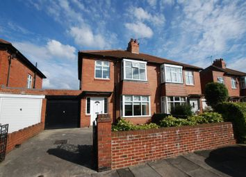 Thumbnail 3 bed semi-detached house for sale in Dene View, Gosforth, Newcastle Upon Tyne