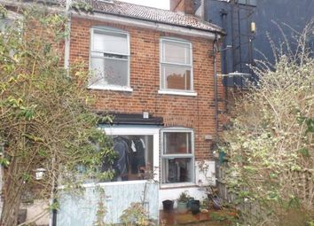 Thumbnail 2 bedroom terraced house for sale in Louden Road, Cromer, Norfolk