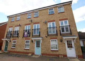 Thumbnail 3 bed town house to rent in Rothbart Way, Hampton Hargate, Peterborough