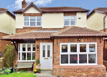 Thumbnail 3 bedroom detached house for sale in Hillview Grove, Easington Colliery, Peterlee