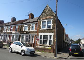 Thumbnail End terrace house for sale in Talworth Street, Roath, Cardiff
