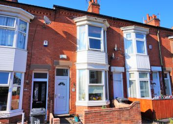 Thumbnail 2 bed terraced house for sale in Hopefield Road, Off Narborough Road