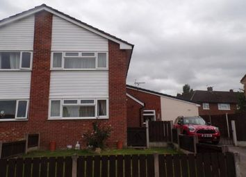 Thumbnail 2 bed semi-detached house for sale in Moss Bank, Winsford, Cheshire, United Kingdom