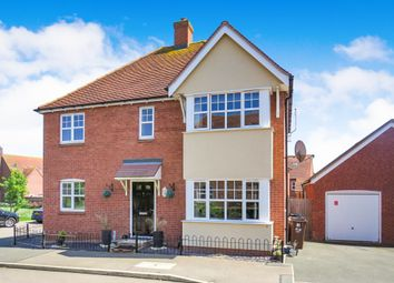 Thumbnail 4 bedroom detached house for sale in Watson Close, Duston, Northampton