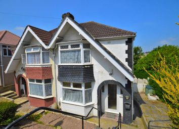 Thumbnail 3 bedroom semi-detached house to rent in Cardinal Avenue, St Budeaux, Plymouth, Devon