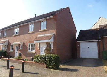 Thumbnail 3 bedroom end terrace house for sale in Comfrey Way, Thetford