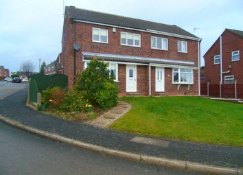 Thumbnail 3 bed semi-detached house to rent in Elmhurst Avenue, Broadmeadows, South Normanton, Alfreton