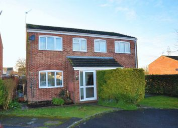 Thumbnail 3 bed semi-detached house for sale in Lawrence Close, Andover