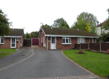 Thumbnail 2 bed semi-detached bungalow for sale in Meadow Lane, Newhall, Swadlincote