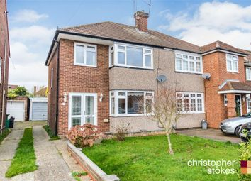 Thumbnail 3 bed semi-detached house for sale in Palmers Way, Cheshunt, Waltham Cross, Hertfordshire