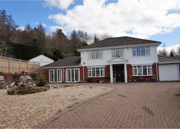 Thumbnail 4 bed detached house for sale in Lakeside Gardens, Merthyr Tydfil
