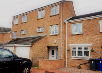 Thumbnail 3 bed town house for sale in Dovedale Court, South Shields