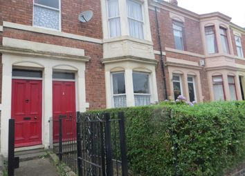 Thumbnail 3 bed flat to rent in Kingsley Terrace, Elswick, Newcastle Upon Tyne