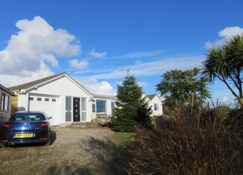 Thumbnail 5 bed detached bungalow for sale in Cockwells, Penzance