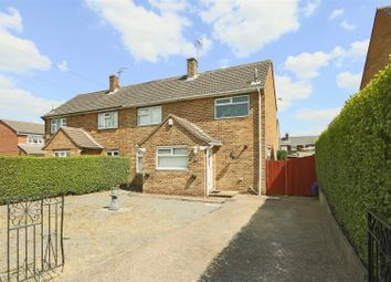 Thumbnail 2 bed semi-detached house for sale in Abbots Close, Daybrook, Nottinghamshire