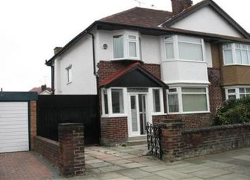 Thumbnail 3 bedroom semi-detached house to rent in Vyner Road, Wallasey