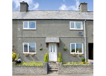 Thumbnail 3 bed terraced house for sale in Bryncir, Garndolbenmaen