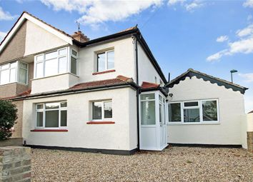 Thumbnail 4 bed semi-detached house for sale in Gassiot Way, Sutton, Surrey