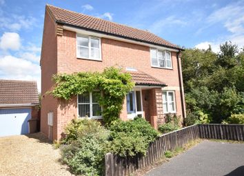 Thumbnail 3 bed detached house for sale in Eastview Close, Cranwell Village, Sleaford