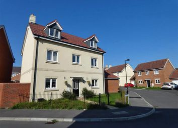 Thumbnail 5 bed detached house to rent in Walter Way, Old Sarum, Salisbury