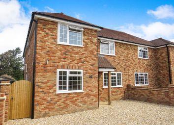 Thumbnail 4 bed semi-detached house for sale in Byfleet Avenue, Old Basing, Basingstoke