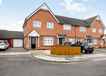 Thumbnail 3 bed end terrace house for sale in Warspite Close, Portsmouth