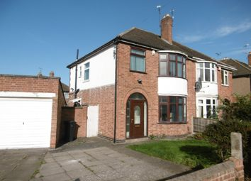 Thumbnail 3 bed property to rent in South Kingsmead Road, Knighton, Leicester