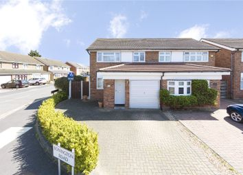 Thumbnail 3 bed semi-detached house for sale in Bonington Road, Hornchurch