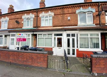 3 bed terraced house for sale in The Broadway, Handsworth, Birmingham B20