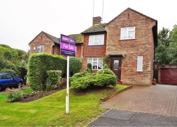 Thumbnail 3 bed semi-detached house for sale in Shirley Avenue, Coulsdon