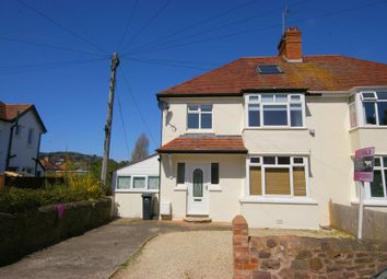 Thumbnail 3 bed semi-detached house for sale in King George Road, Minehead