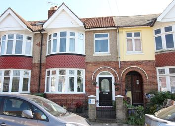 Thumbnail 4 bed terraced house for sale in Hayling Avenue, Portsmouth