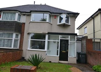 Thumbnail 3 bedroom semi-detached house to rent in Kings Road, Kingstanding, Birmingham
