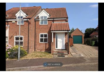 Thumbnail 2 bed semi-detached house to rent in Barn Meadow, Norwich