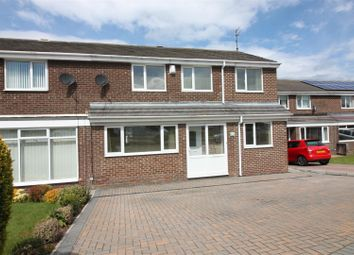 Thumbnail 4 bed semi-detached house for sale in Newlyn Drive, Cramlington