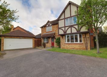 Thumbnail 4 bed detached house for sale in Turner Road, Wellingborough
