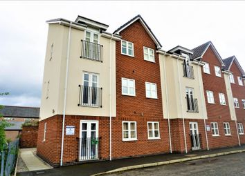 Thumbnail 2 bed flat for sale in Machine Square, Wrexham