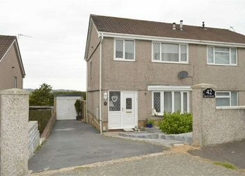 Thumbnail 3 bedroom property for sale in Heol Will George, Waunarlwydd, Swansea