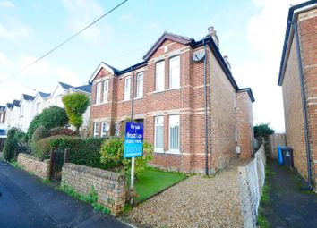 Thumbnail 3 bedroom semi-detached house for sale in Library Road, Parkstone, Poole, Dorset