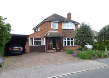 Thumbnail 4 bed detached house for sale in Spinney Hill Drive, Loughborough