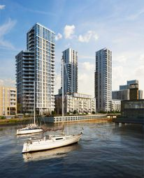 Thumbnail 1 bed flat for sale in The Lighterman, Greenwich Peninsula, Greenwich, London